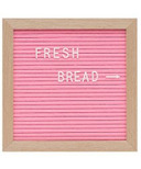 Drake General Store Felt Letter Board Small Pink