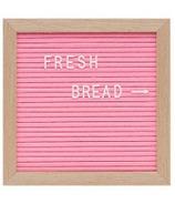Drake General Store Felt Letter Board Small Pink