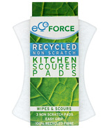 EcoForce Heavy Duty Recycled Kitchen Scourer Pads