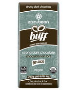 Zazubean Organic Buff 90% Cocoa Strong Dark Chocolate