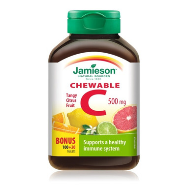 Jamieson Vitamin C Chewable - Citrus Juice