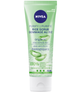 NIVEA Purify Rice Scrub with Organic Aloe Vera for Combination Skin
