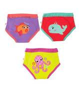 ZOOCCHINI Organic Training Pants Girls Ocean Friends