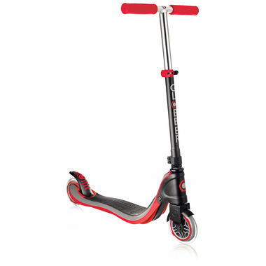Globber Flow 125 Scooter Red and Black