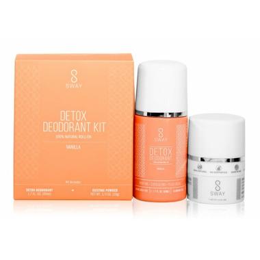 Sway Detox Deodorant Kit Vanilla