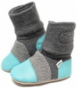 Nooks Design Booties Lagoon
