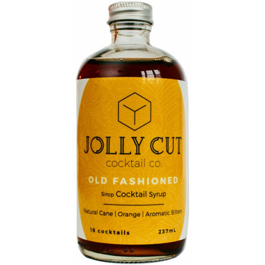 Jolly Cut Cocktail Co. Old Fashioned Cocktail Syrup