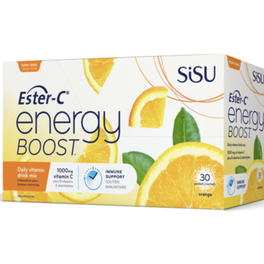 SISU Ester-C Energy Boost Orange