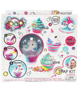 Canal Toys So Soap Cupcake DIY Kit 3 Pack Narwhal