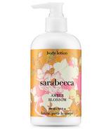 Sarabecca Amber Blossom Body Lotion