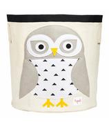 3 Sprouts Storage Bin Snowy Owl