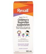 Rexall Children's Ibuprofen Suspension Liquid