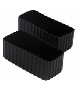 Little Lunch Box Co. Bento Cups Rectangle Black
