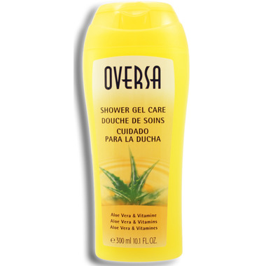 Oversa Wellness Shower Gel Aloe Vera & Vitamin E