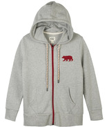 Hatley Little Blue House Bear Heritage Women's Full Zip Hoodie