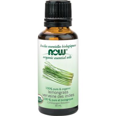 NOW Essential Oils Organic Lemongrass Oil