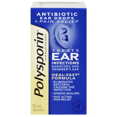 Polysporin Plus Pain Relief Ear Drops