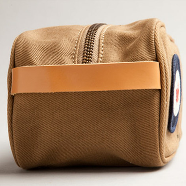 Red Canoe RCAF Toiletry Bag Tan