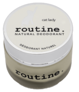 Routine De-Odor-Cream Natural Deodorant Cat Lady