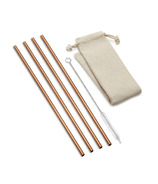Outset Straight Copper Straws