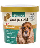 Naturvet Omega-Gold Plus Salmon Oil Soft Chews