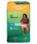 Depend FIT-FLEX Incontinence Underwear for Women Maximum Absorbency Medium