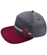 L&P Apparel Portland Snapback Burgundy