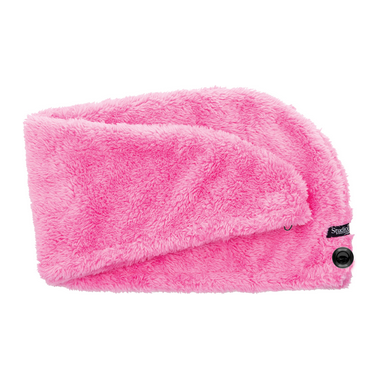 Studio Dry Turban Hair Towel in Pink