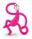 Matchstick Monkey Dancing Monkey Teether Pink