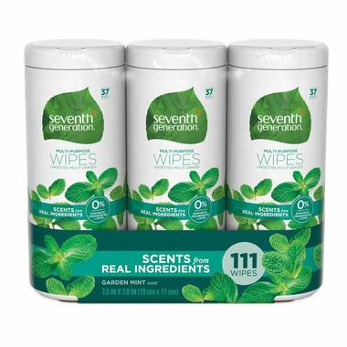 Seventh Generation Multi-Purpose Wipes Garden Mint