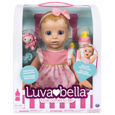 Luvabella Baby Doll Blonde Hair