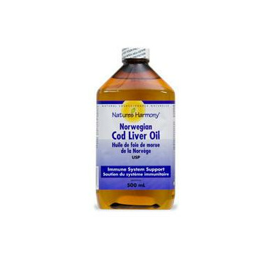 Nature\'s Harmony Cod Liver Oil