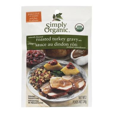 Simply Organic Roasted Turkey Gravy Seasoning Mix