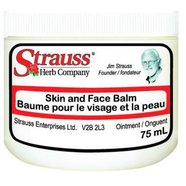 Strauss Herb Company Skin & Face Balm