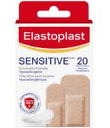 Elastoplast Adhesive Bandages for Sensitive Skin Light