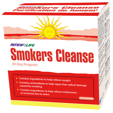 Renew Life Smokers\' Cleanse