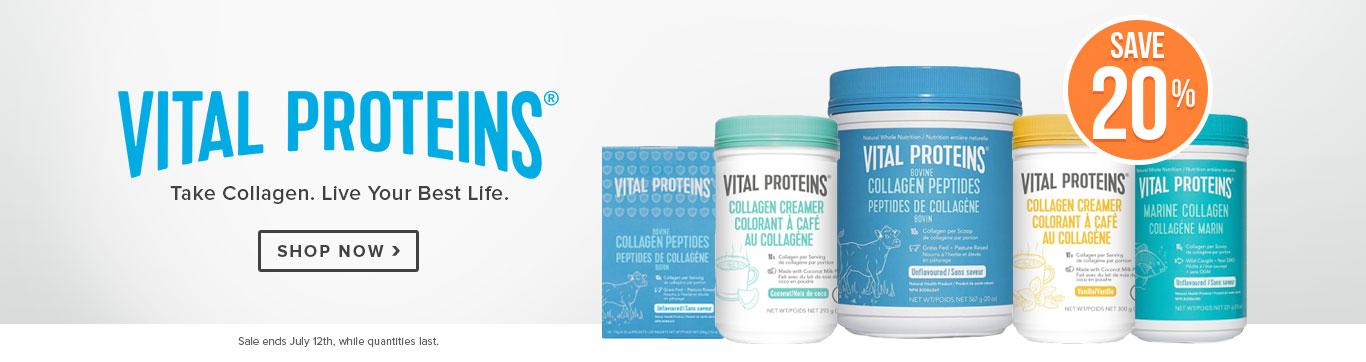 Save 20% on Vital Protein