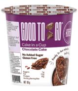 Good To Go gâteau au chocolat dans une tasse