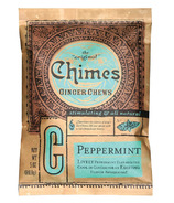 Chimes Peppermint Ginger Chews Bag