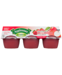 Applesnax Apple-Strawberry Applesauce Cups