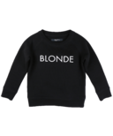 BRUNETTE the Label Blonde Crew Black