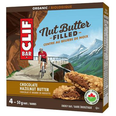 Clif Bar Nut Butter Filled Energy Bars Pack Chocolate Hazelnut Butter