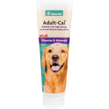Naturvet Adult-Cal Plus Vitamins & Minerals Gel