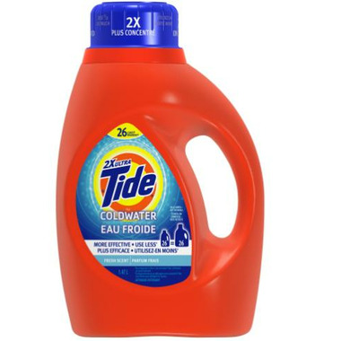Tide Cold Water 2x Ultra Liquid Laundry Detergent