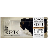 Epic Provisions Bison Bacon Cranberry Bar