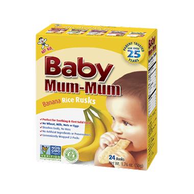 Hot-Kid Baby Mum-Mum Banana Rice Rusks