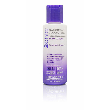 Giovanni 2Chic Ultra-Replenishing Body Lotion Travel Size