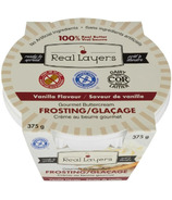 Real Layers Gourmet Buttercream Frosting Vanilla Flavour