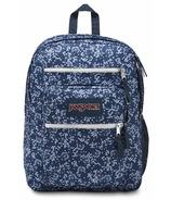 Jansport Big Student Backpack Navy Field Floral