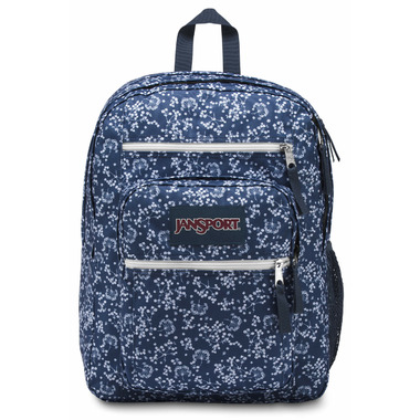 Jansport Big Student Backpack Navy Field Floral